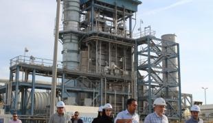 بازدید انجمن برق آبی از آب شیرین کن قشم